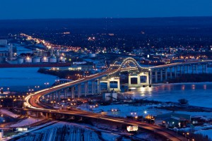 Blatnik bridge duluth